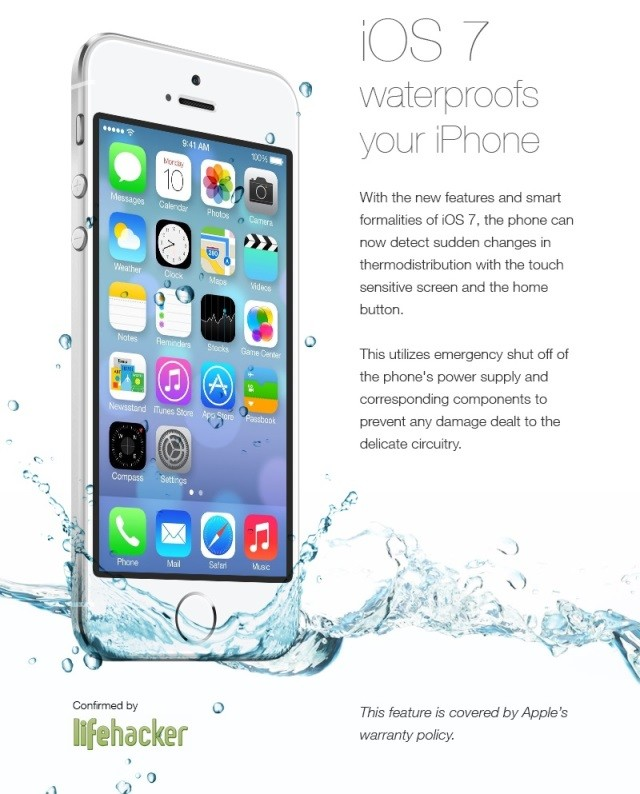 iOS 7 Waterproof